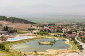 Pamukkale valley view — Stock Photo