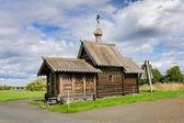 Small wooden church at Kizhi — Stock Photo