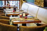 Restaurant interieur — Stockfoto