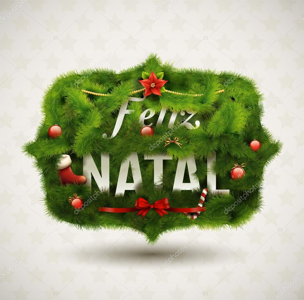Creative Christmas label. — Image vectorielle #15501205