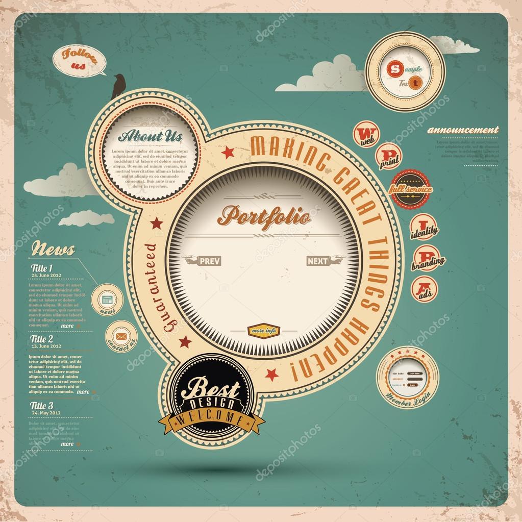 Vector Illustration Web Designs: Stock Vector © Blinkblink