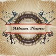 Vintage Music Sign/Badge. — 图库矢量图片 #15548499