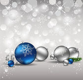 Elegant Christmas Background. — Stock vektor