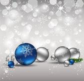 Elegantní vánoční pozadí. — Stock vektor