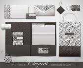Elegancki design firmy — Wektor stockowy