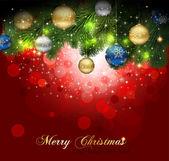 Magic Christmas Background — Stock Vector