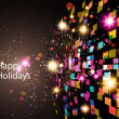 Abstract Holidays Background — Stock Vector