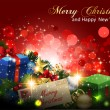 Royalty-Free Stock Imagen vectorial: Magic Christmas Background