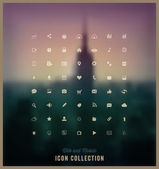 Web and Mobile Icon Collection — Stockvector