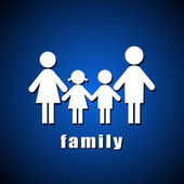 Familiy — Stock Vector