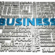 Business words — Stock Photo #25094401