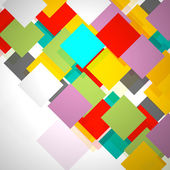Colorful squares — Stock Photo