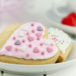 Valentine cookies - Stock Photo