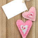 Valentine's day hearts — Stock Photo #17454119