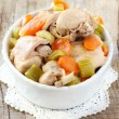 Rabbit stew — Stock Photo