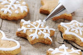 Christmas baking — Stockfoto