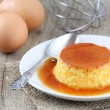 Creme caramel or Flan — Stock Photo