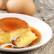 Stock Photo: Creme caramel or Flan