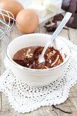 Mousse au chocolat — Stock Photo