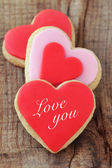 Romantic cookies — Stock Photo
