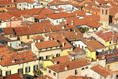 Red roofs in Italy — Stock Photo