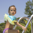 Stock Photo: Girl in the swimming pool