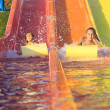 Stock Photo: Girl in water park