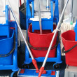 Cleaning equipment - Foto Stock