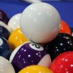 Snooker balls — Stock Photo #15712059