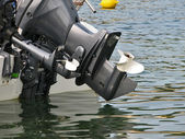 Boat motor — Stock Photo
