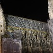 Stephansdom by night — Stock Photo