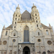 Stephansdom cathedral in Vienna — Stock Photo