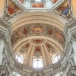 Salzburg cathedral - interior — Stock Photo