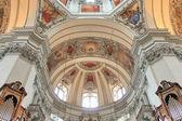 Salzburg katedrali - iç — Stok fotoğraf