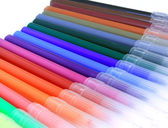 Colorfuls pens — Stock Photo