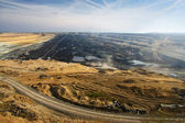 Open coal mine — Stock Photo