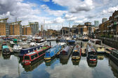 Harbour in Limehouse - London — Stock Photo