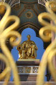Prince Albert statue — Stock Photo