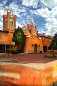 Albuquerque church — Stock Photo