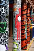 Graffiti in Santa Fe — Stock Photo