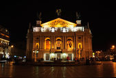 Lviv Opera House — Stock Photo