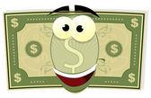 Noi del fumetto carattere dollaro — Vettoriale Stock