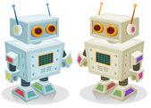 Robot Toy For Children — Stock Vector