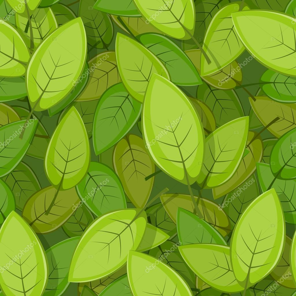 Leaves Background Wallpaper a Seamless Background With