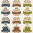 Vintage Retail Badges, Awards And Banners — Stock Vector #20875809