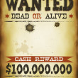 Wanted Vintage Western Poster — Stock Vector #47008149