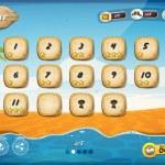 Desert Island Game User Interface Design For Tablet — Stock Vector #50143727