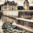 Chateau de Chenonceau, Loire Valley, France - Stock Photo