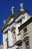Kyrkans fasad — Stockfoto
