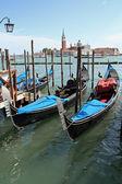 Gondola boat — Stock Photo
